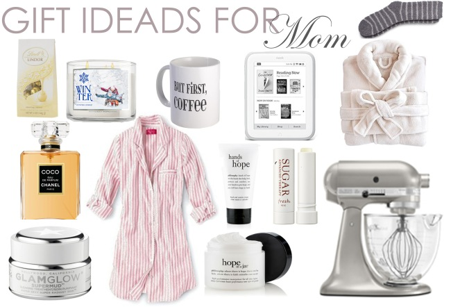 Gift Guide for Mom collage