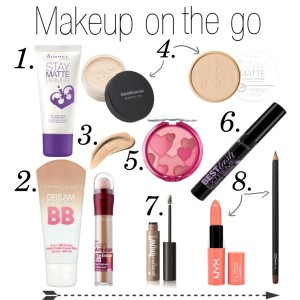 makeup on the go