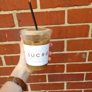 Sucre A Sweet Boutique. Such a cute place filled with amazing desserts!